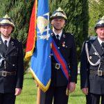 Poczet sztandarowy Ochotniczej Straży Pożarnej