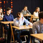 Uczniowie podczas konkursu historycznego