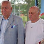 Starosta Maciej Stefański i Grzegorz Lato
