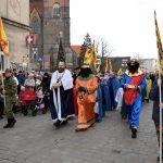 Orszak Trzech Króli na ulicach Brzegu