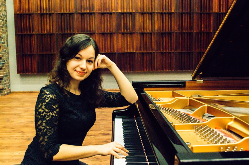 Pianistka Michalina Rzeszutek