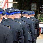 Strażacy podczas mszy polowej