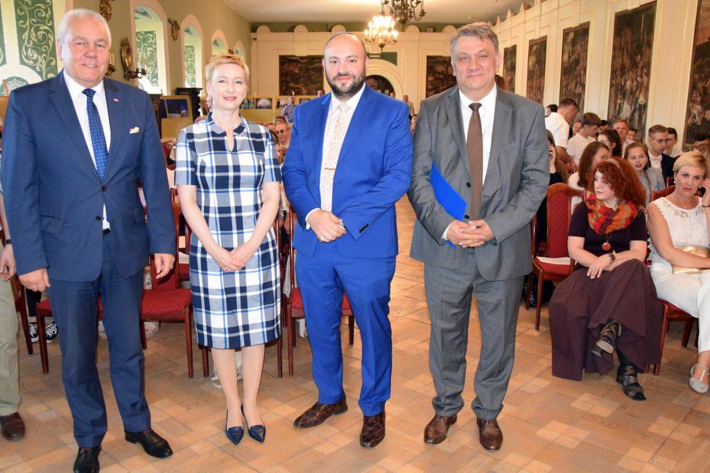 Goście specjalni IV Brzeskiego Dnia Kultury Żydowskiej