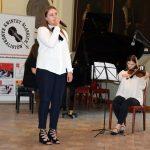 Występ młodzieży z I Liceum Ogólnokształcącego w Brzegu