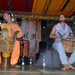 Zespół Foliba zabrał publiczność w muzyczną podróż na Czarny Ląd, a ponadto przygotował warsztaty muzyczne dla dzieci