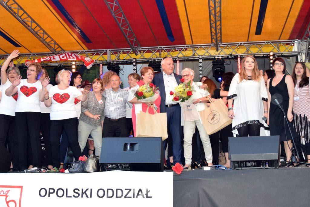 Artyści podczas II Polonijnego Festiwalu Polskiej Piosenki
