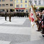 Poczty sztandarowe podczas Święta Wojska Polskiego